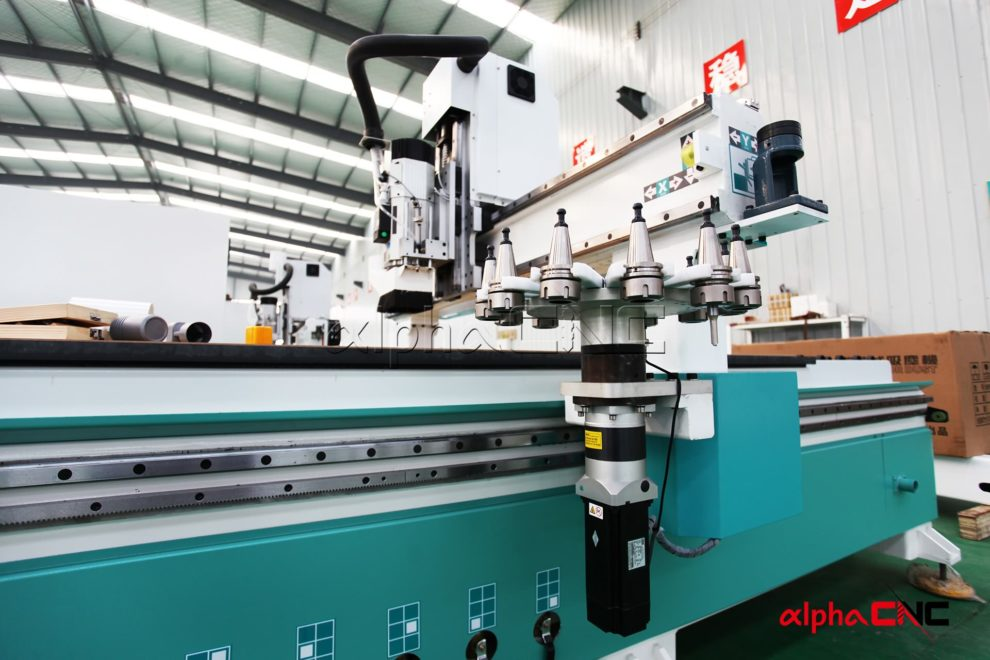 Router cnc atc serie industriale is mk carousel tool magazine