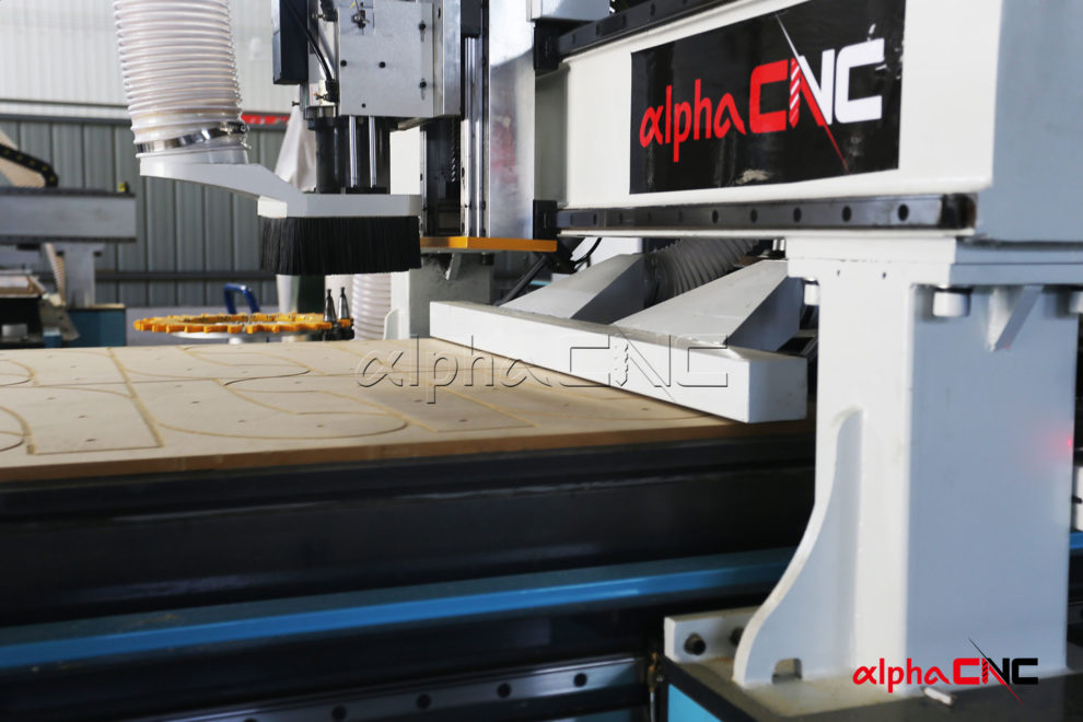 AIS Series CNC Nesting Machine With Automatic Loading System And ATC